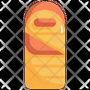 Sleeping Bag Camping Icon