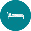 Sleeping bed Icon