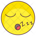 Sleeping Emoji Sleeping Expression Emotag Icon