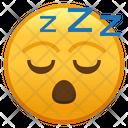 Sleeping Face Emoji Emoticon Icon