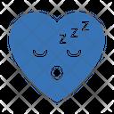 Sleepy Face Heart Icon