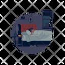 Sleeping Girl Icon