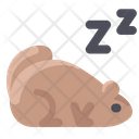 Sleeping Groundhog Icon