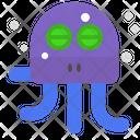 Sleeping octopus Icon