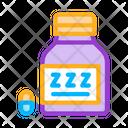 Sleeping Pills Icon