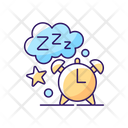Sleeping Time Sleep Time Sleeping Icon