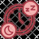 Sleeping Time Icon