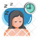 Sleeping Well Sleep Deep Sleep Icon
