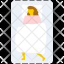 Sleeping Woman Icon