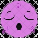 Sleepless Emoticon Emoji Emoticon Icon