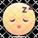 Sleepy Emoji Smiley Icon