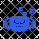 Sleepy Mask Virus Icon
