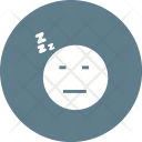 Sleepy Emoji Face Icon