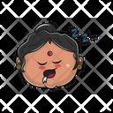 Sleepy Aunt Icon