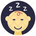 Sleepy Baby Icon