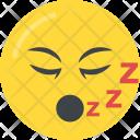 Sleeping Mouth Snoring Icon