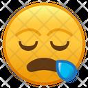 Sleepy Face Emoji Emoticon Icon
