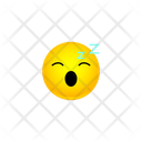 Sleepy Face Smiley Icon