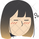Sleepy Girl Icon