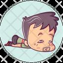 Sleepy Man Icon