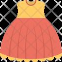 Frock Sleeveless Dress Icon