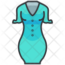 Sleeves dress Icon