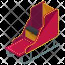 Sleigh Sledge Gift Icon