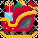 Sleigh Sledge Xmas Icon