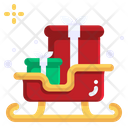 Sledge Christmas Xmas Icon