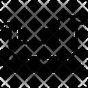 Sleigh Sledge Sled Icon