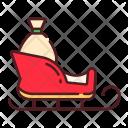 Sleigh Sledge Icon