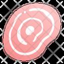 Sliced Pork Pork Meat Icon
