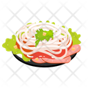 Sliced Pork With Sweet Onions Icon