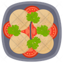 Sliced Sausage Icon