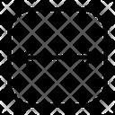 Slide Gesture Scroll Icon
