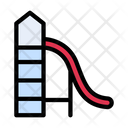Slide Themepark Playground Icon