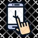 Slide Down Icon