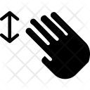 Vertically Slide Four Icon