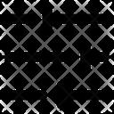 Slider Adjustment Horizontal Icon