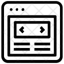 Slider Webpage Icon