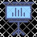 Presentation Slide Office Icon