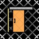 Sliding Door Color Icon
