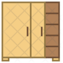 Sliding door closet Icon