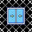 Sliding Sashes Frame Icon