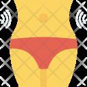 Slim Waistline Female Icon