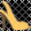 Slingback Heels Heels High Heels Icon