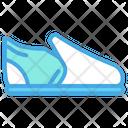 Slip On Shoe Flat Shoe Sandal Shoe Icon