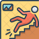 Workplace Injuries Accident Icon
