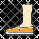 Shoe Footwear Slip On Icon