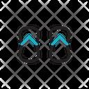 Slipper Footwear Shoes Icon
